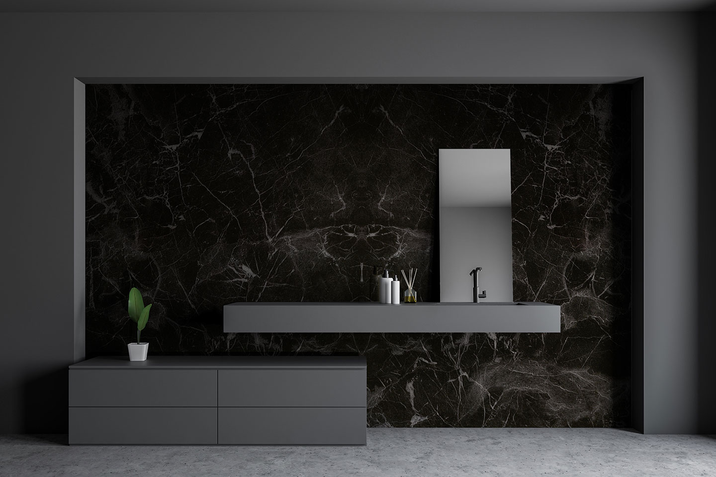 bad inspiration perluno black marble rebado